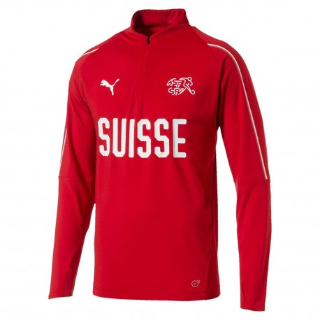 CAMISETA PUMA SUISSE 1/4TRAINING TOP